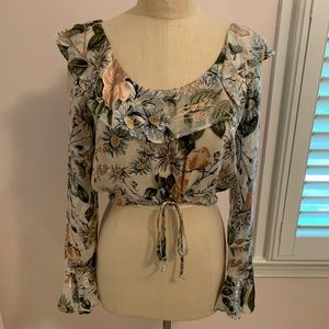 For Love and Lemons Floral Top